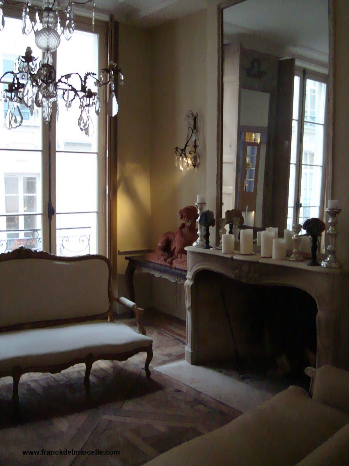 Dcoration dun appartement  Paris  Franck Delmarcelle