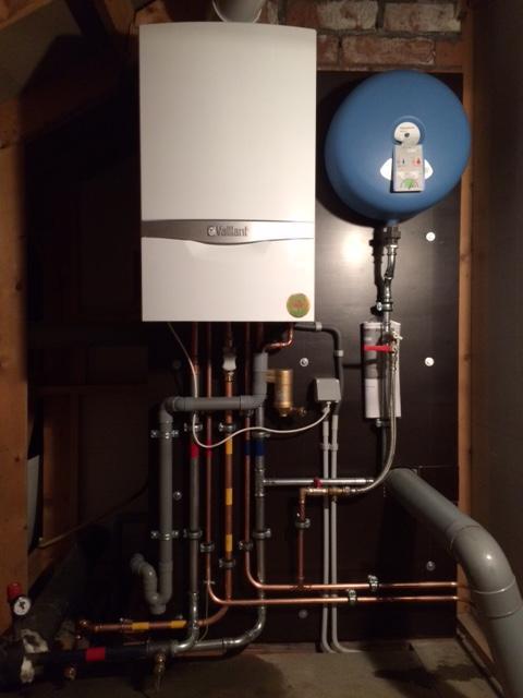Gascondensatie installatie
