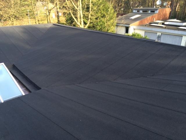 Renovatie plat-schuin dak