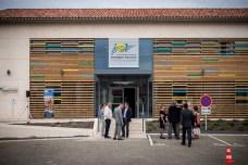 Le nouveau siège de la communauté de communes de la Lomagne gersoise: un bâtiment élégant et fonctionnel. ©franckmontauge.fr