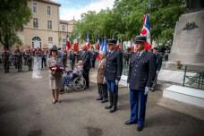 Les récipiendaires de la gendarmerie avant la remise de leurs décorations. ©franckmontauge.fr