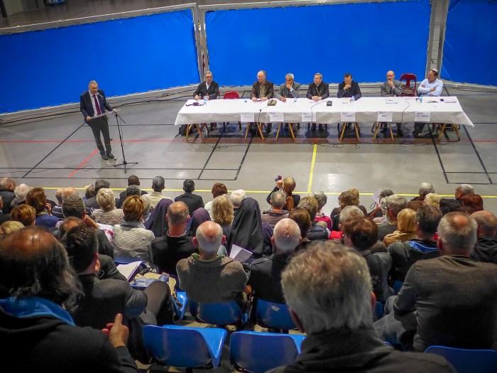 Pendant l'intervention de Franck Montaugé. ©franckmontauge.fr