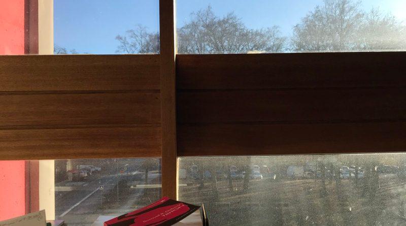 Vue de la fenêtre de la Cité