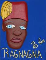 """""""Pas Bon Ragnagna"""" - 65 x 50 - Bas-relief sur toile - 2002"""