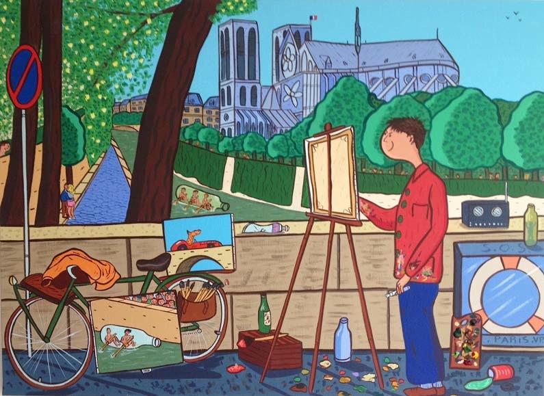 Notre-Dame de Paris par Francky Boy