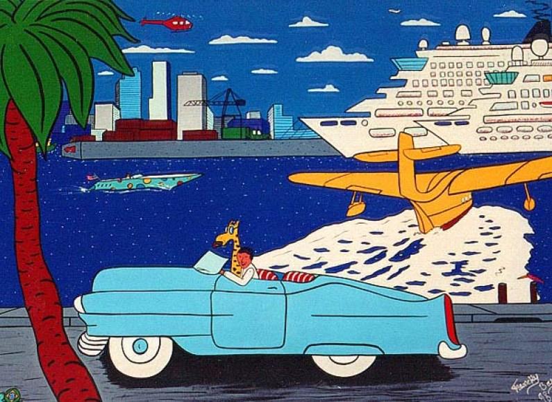 """""""Le Port de Miami"""" - 1999"""