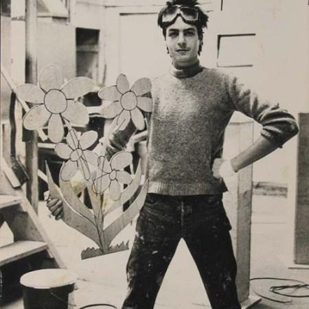 Francky Boy en pleine réalisation - 1983