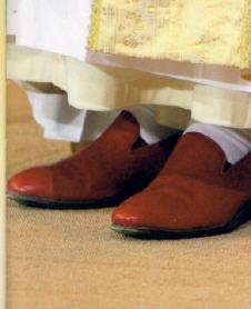 Red Suede Shoes