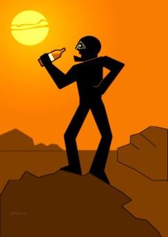 PREMIER HOMME SUR MARS