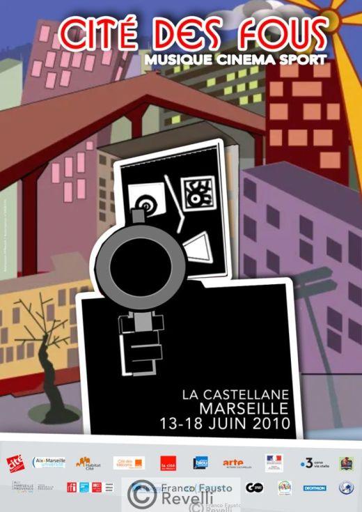 LA CITÉ DES FOUS | poster, 2010