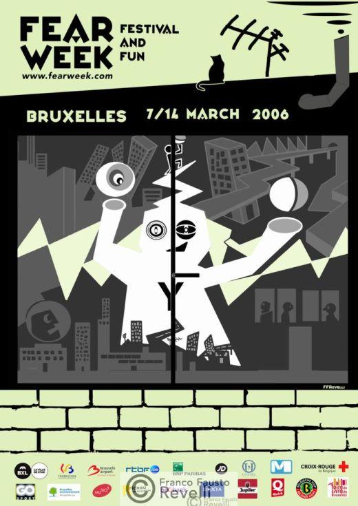 FEAR WEEK BRUXELLES | Affiche, 2006