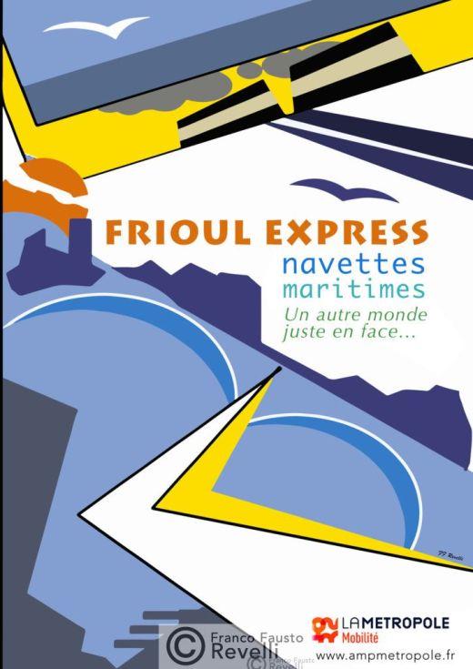 FRIOUL EXPRESS | Poster, 2020