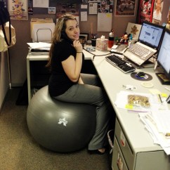 Ball Chair For Office Lazy Boy Big And Tall Five Ways To Stay Active At The Franco