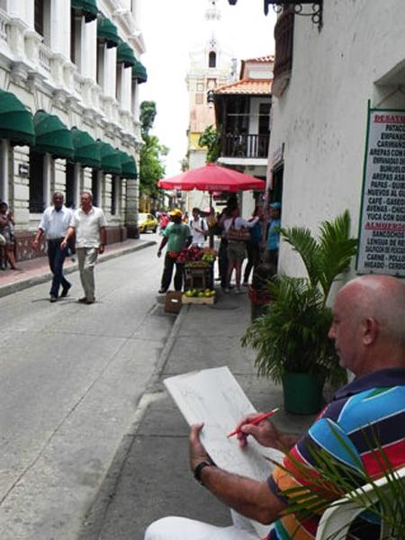 Franco Azzinari a Cartagena Colombia
