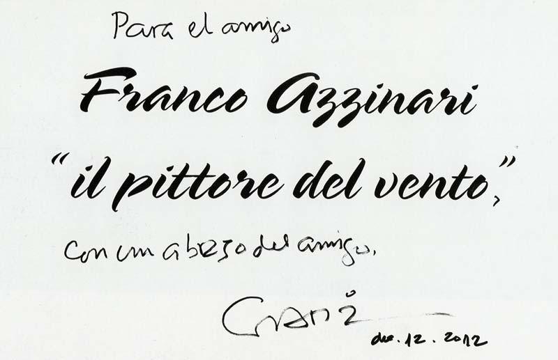 Dedica Gabriel Garcia Marquez a Franco Azzinari
