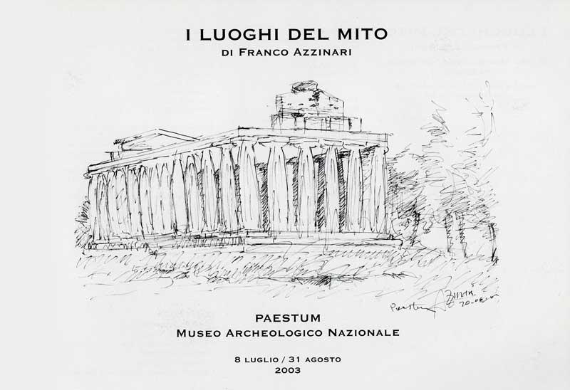Interno catalogo mostra Paestum