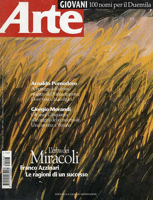 Franco Azzinari - Rivista Arte