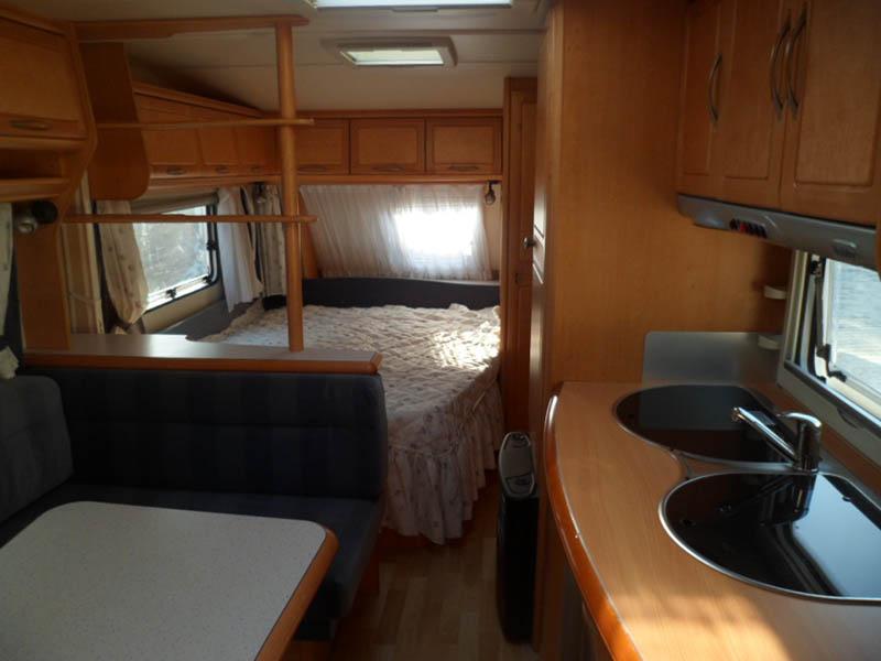 Franco Caravan vendita roulotte usate e caravan usati di costruzione tedesca vendita roulotteusatohobby6posti