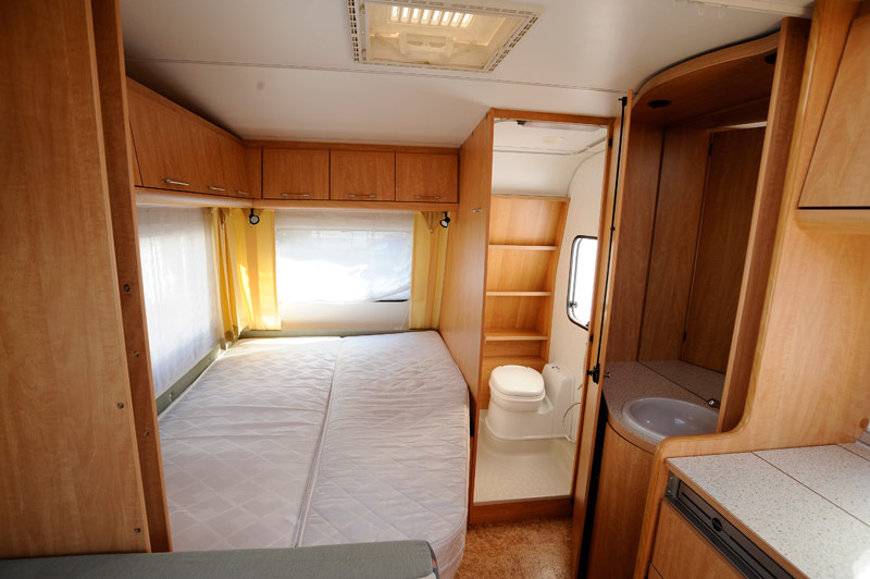Franco Caravan vendita roulotte usate e caravan usati di costruzione tedesca vendita Roulotte