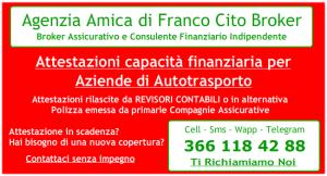 Franco Cito Broker Attestazione Capacià Finanziaria