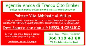 Franco Cito Broker - Polizze Vita TCM abbinate ai mutui