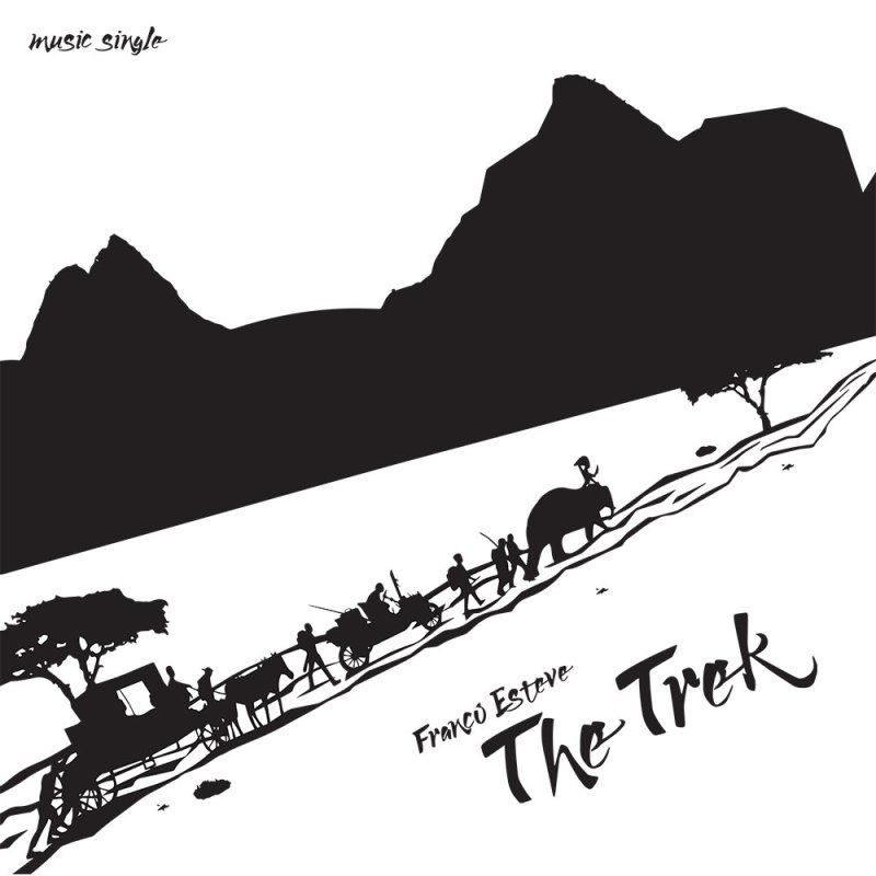 The Trek CD Cover for Franco Esteve's music single