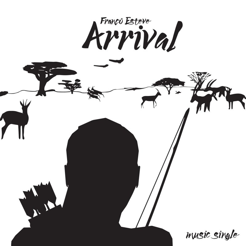 Arrival Music Single Cover Art by Franco Esteve