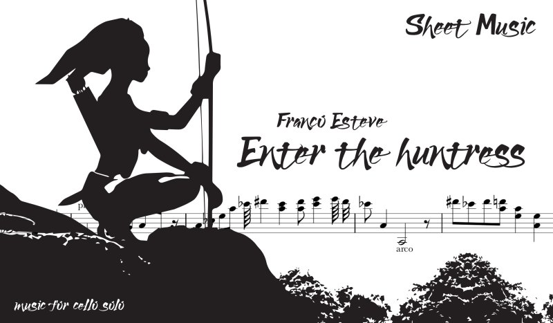 Enter the Huntress Sheet Music Now Available