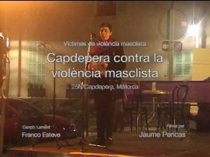 Violence against Women - Naming the victims - Nov 25 2019 Event Capdepera, Mallorca