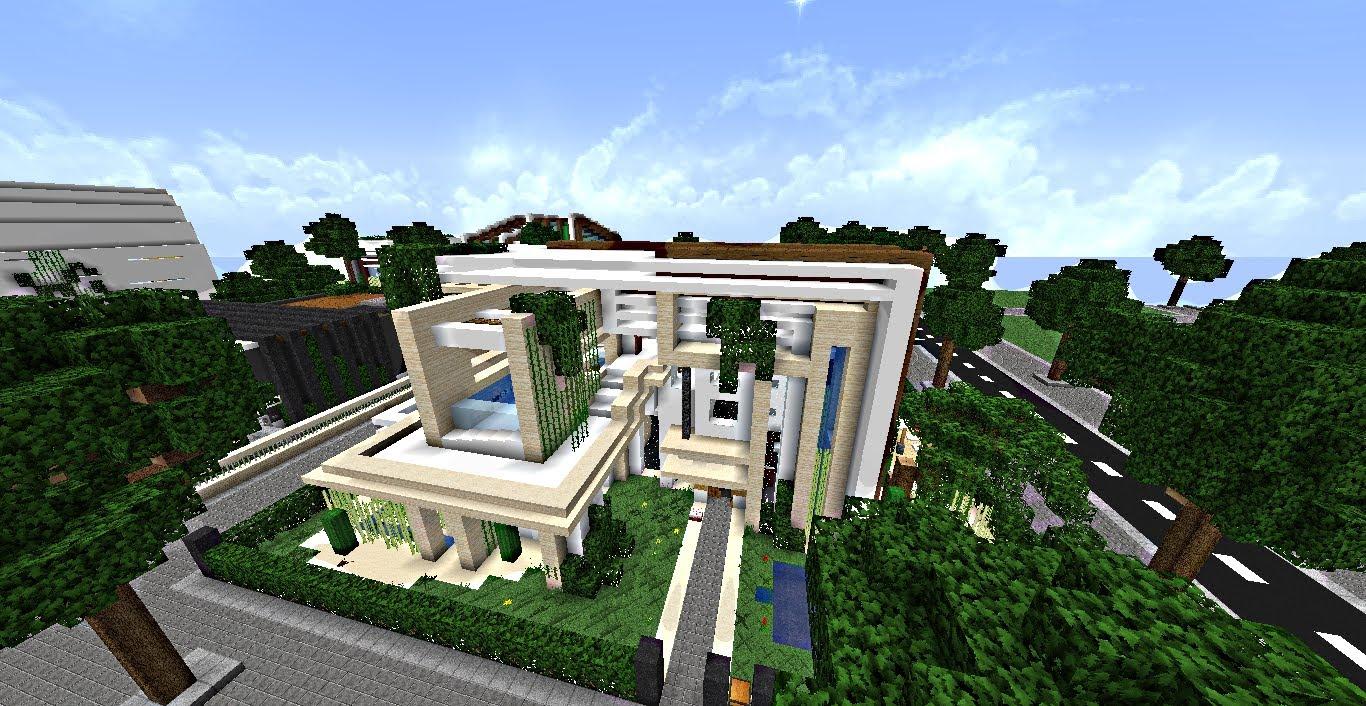 Maison de riche minecraft  Maison Franois Fabie