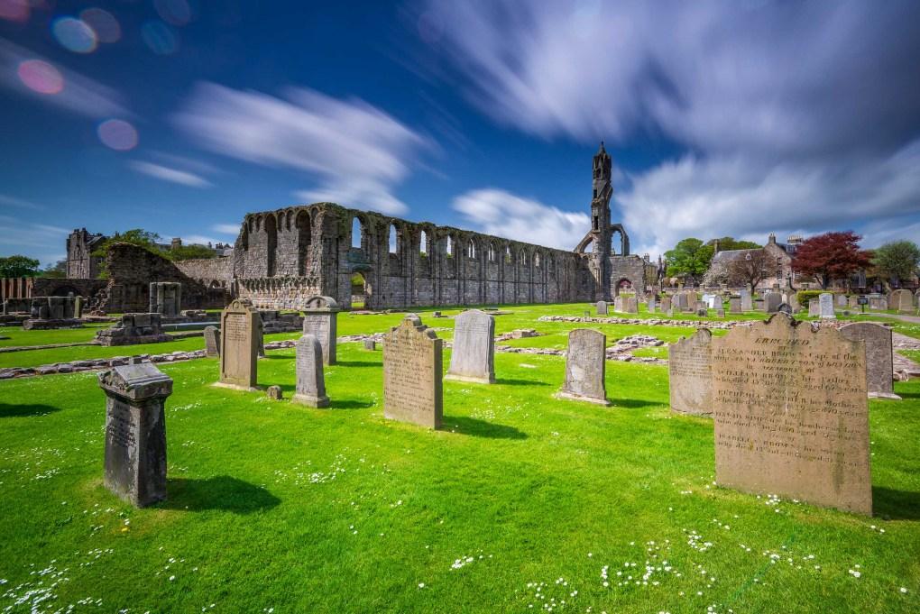 Les ruines de la cathédrale Saint Andrews - Ecosse