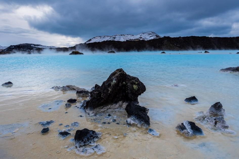 Les eaux du Blue Lagoon