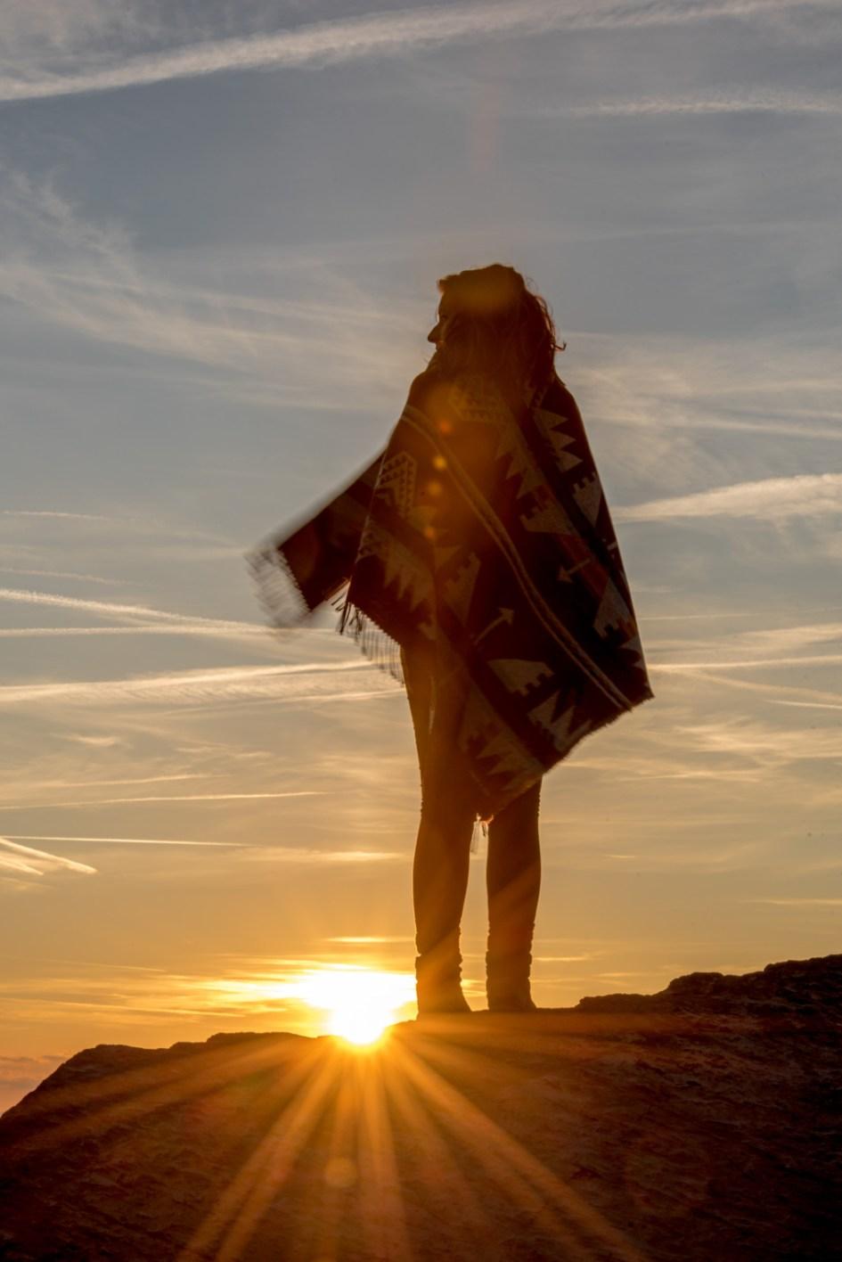 Les Facettes au sunset