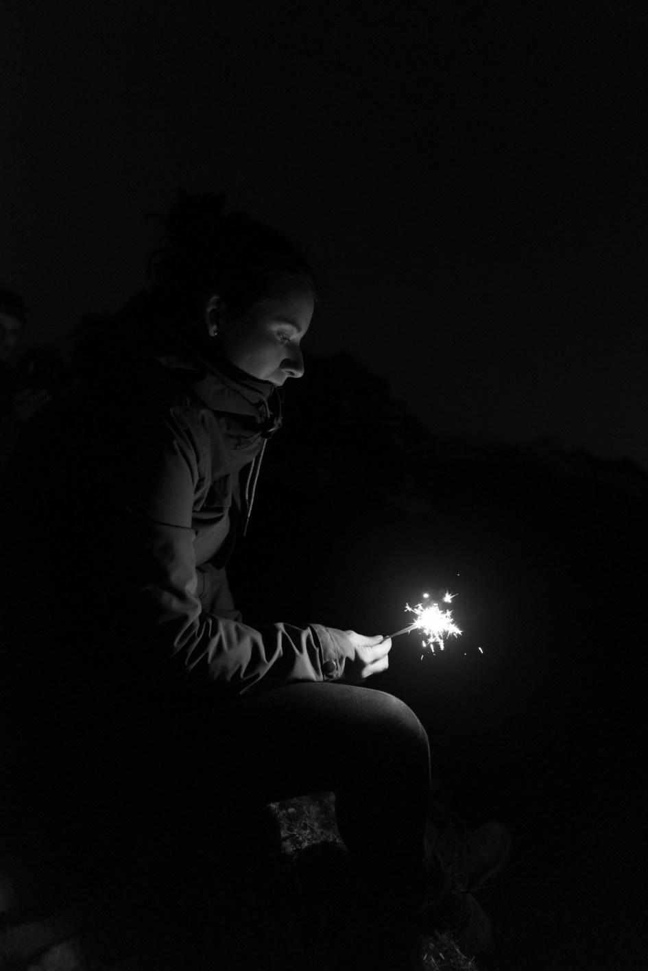 A la lueur des étincelles