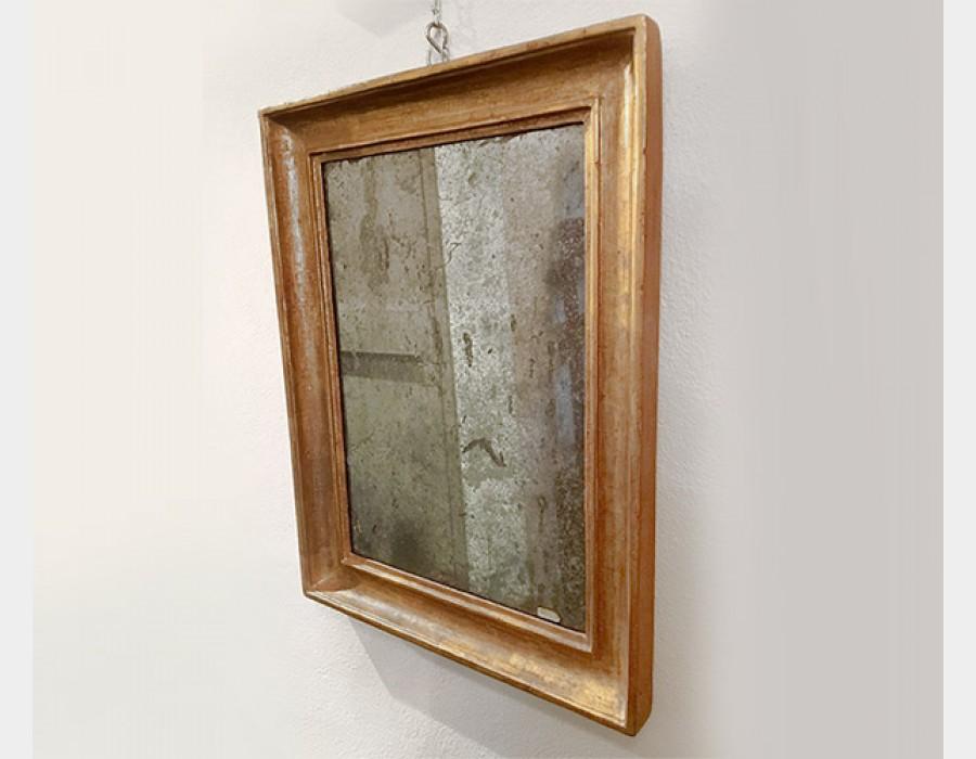 Antica Specchiera in legno dorato