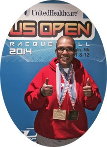 2014 US Open Champion Tammarrian Rogers 2x Medalist