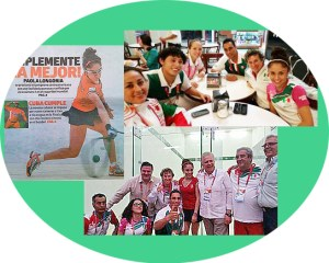 Paola wins 3 Gold Medals at the Central American Games.