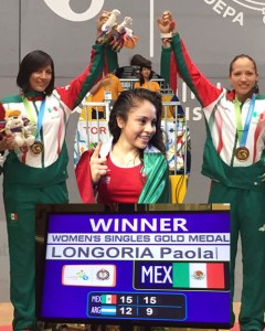 Paola 2015 Pan Am Champion.