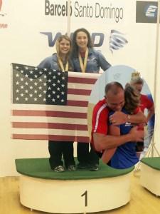 Jordan Cooperrider-2015 Junior World Championships - Girls 16 Doubles Gold Medalist w partner Erika and Girls 16 Singles Silver Medalist.