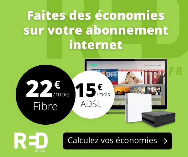 Calculez les économies que vous pouvez réaliser sur votre abonnement ADSL ou Fibre grâce à notre outil