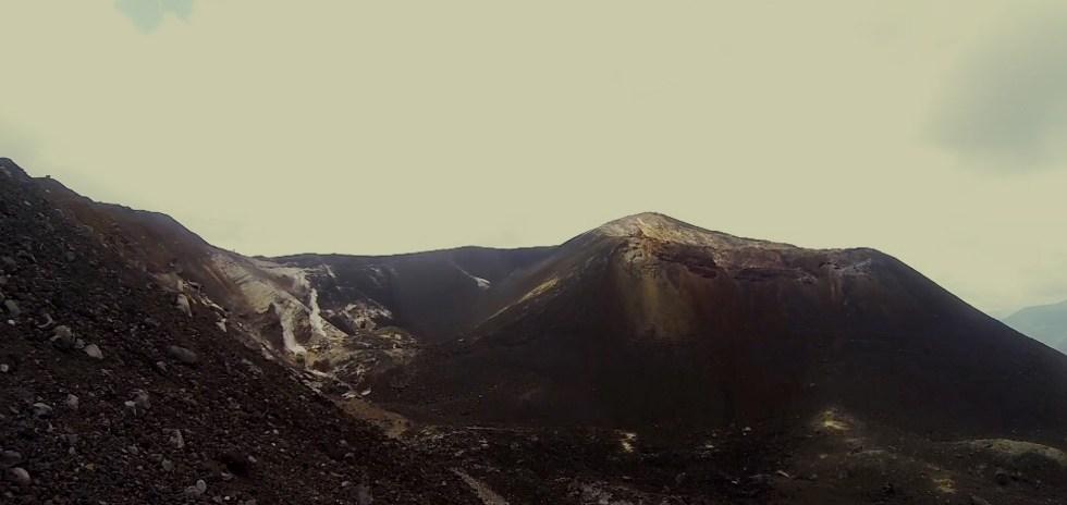 Sibirien im späten Perm in meiner Vorstellung, Foto aus Nicaragua, Cerro Negro