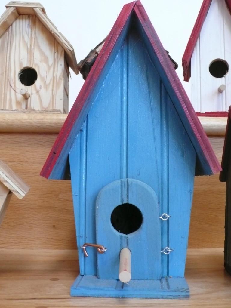 Jim's birdhouses!