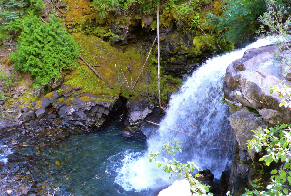 The Cascades...