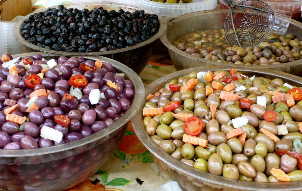 more olives from the market