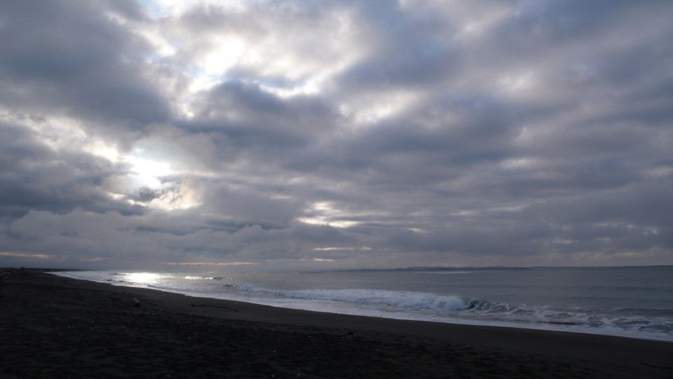 Winter Solstice, Ocean Shores, Washington