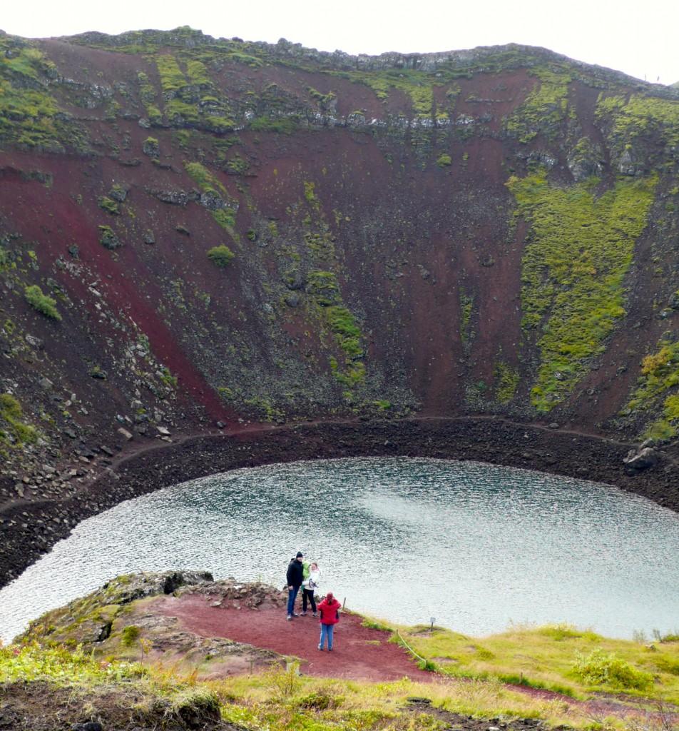 Kerid Volcano Lake