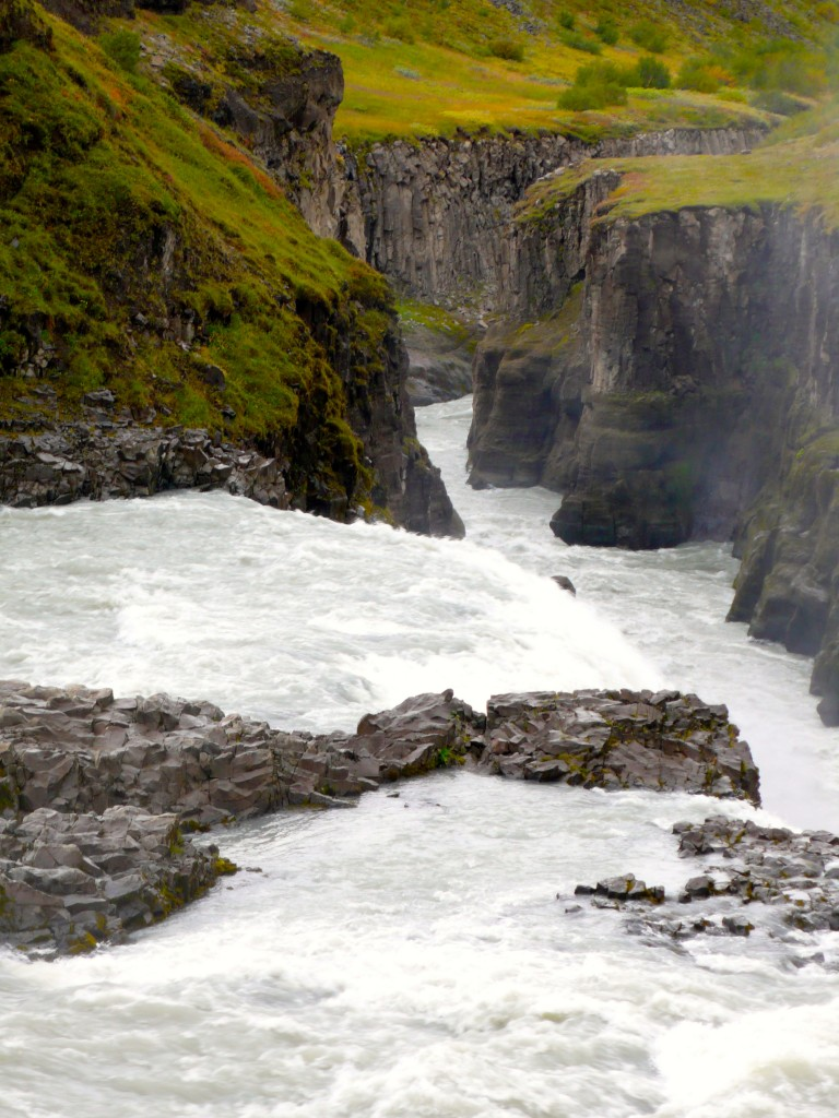 Another view of falls and canyon