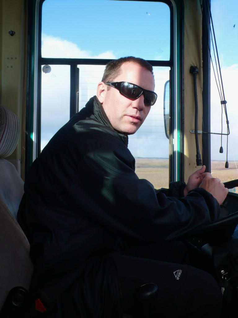 Our driver, Einar Thorsteinsson  (Thank you for driving us safely there and back!)