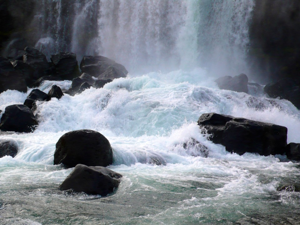 Waterfall at Thingviller