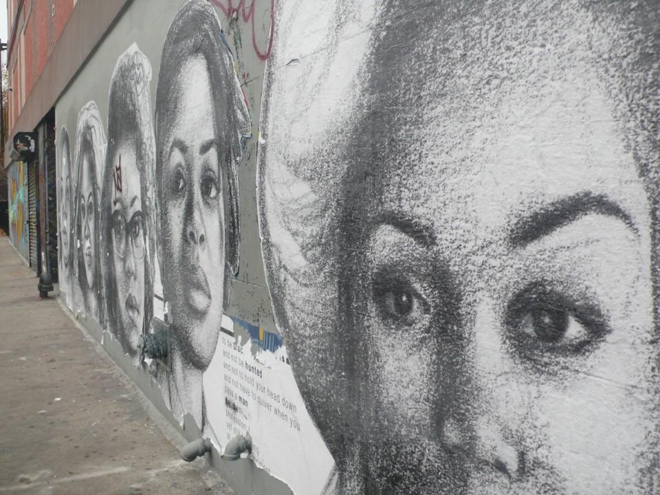 Street Murals (Tenement Tour Scene)